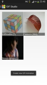 Select the photo folder