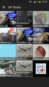 GIF Studio - folder arts added