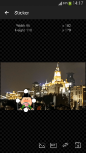Add sticker on photo - Sticker Screen